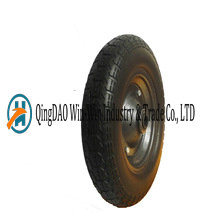 Solid PU Wheels for Wheelbarrow Made in China (3.50-7)