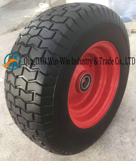 Flat-Free PU Wheel for Small Mobiity Equipments (6.50-8)
