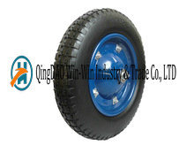 Heavy Duty PU Solid Wheel From Qingdao (3.25-8)