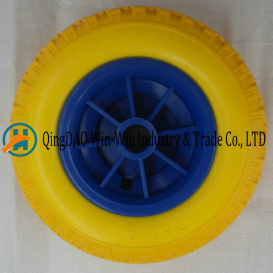 Yellow PU Foam for Lawn Mower Wheels (250-4)