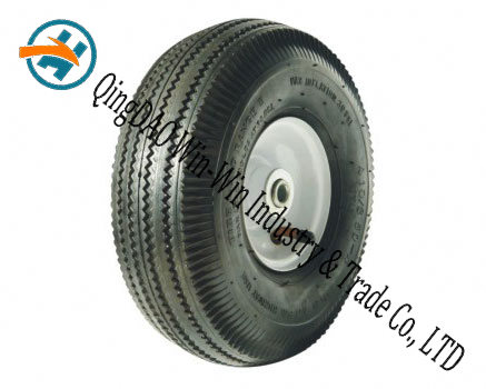 "Pneumatic Rubber Wheel Used on Steel Wheels (10""X3.50-4)"