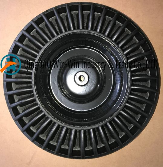 Black Solid Rubber Wheel for Hand Truck (4.00-8)