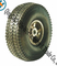 "Trolley Pneumatic Rubber Wheels 10""X4.10/3.50-4"