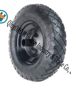 "Pneumatic Rubber Wheel Used on Hand Trucks (16""X4.00-8)"