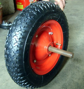 Wear-Resistant Pneumatic Rubber Wheel for Wheelbarrow